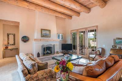 Santa Fe NM Single Family Home For Sale: $760,000