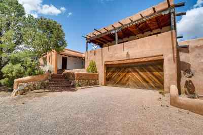 Santa Fe NM Single Family Home For Sale: $860,000