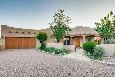 Santa Fe NM Single Family Home For Sale: $1,040,000