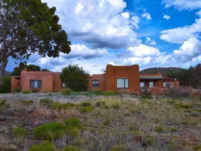 Santa Fe Single Family Home For Sale: 157 Nine Mile Rd