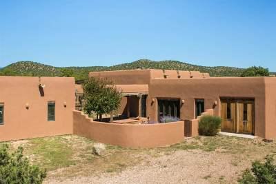Santa Fe Single Family Home For Sale: 53 Principe De Paz