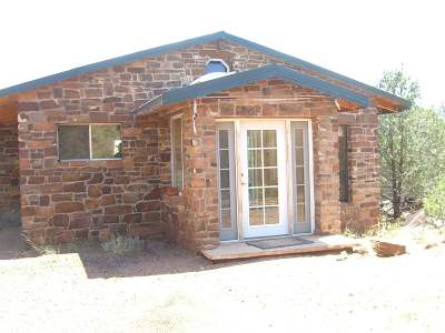 Single Family Home For Sale: 9 Miles East From Rowe Exit Off Frontage Road