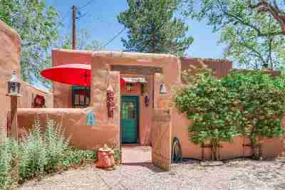 Santa Fe Condo/Townhouse For Sale: 723 Gildersleeve #A