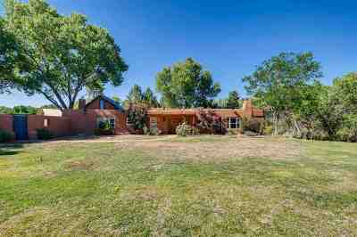Lamy Single Family Home For Sale: 5614 C Highway 41