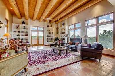 Santa Fe Single Family Home For Sale: 3211 Vista Serena