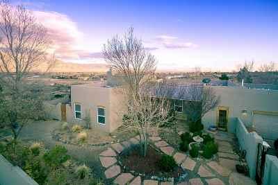 Corrales Single Family Home For Sale: 60 Paeso Mesa Alta Este