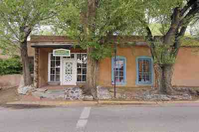 Santa Fe Commercial For Sale: 834 & 836 Canyon Road