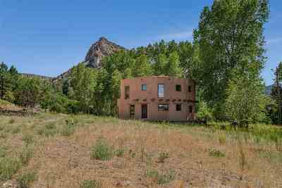 Rio Arriba County Single Family Home For Sale: 595 Cr 194