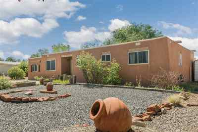 Santa Fe Single Family Home For Sale: 3026 Calle Caballero