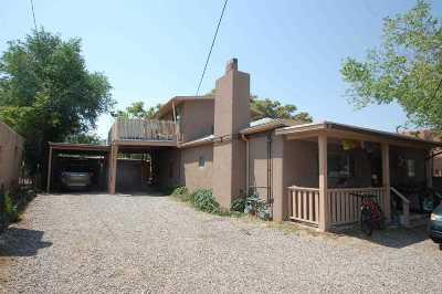 Santa Fe Single Family Home For Sale: 1624 Paseo De Peralta