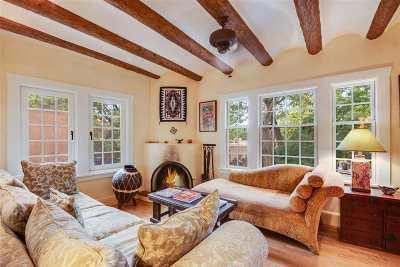 Santa Fe Single Family Home For Sale: 833 E Palace Avenue