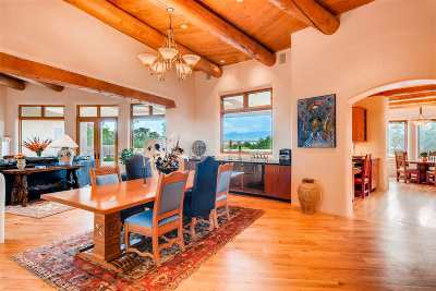 Las Campanas Single Family Home For Sale: 4 Camino Medianoche