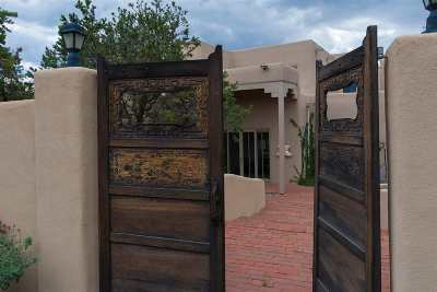 Single Family Home For Sale: 4 Old Agua Fria #East and