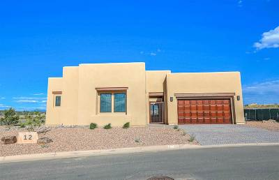Santa Fe Single Family Home For Sale: 12 Camino Maravilla
