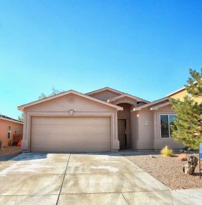 Rio Rancho NM Single Family Home For Sale: $160,000