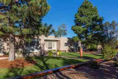 Santa Fe Single Family Home For Sale: 1200 Madrid Road