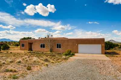 Santa Fe Single Family Home For Sale: 84a Haozous Rd
