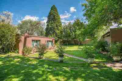 Santa Fe NM Single Family Home For Sale: $2,100,000