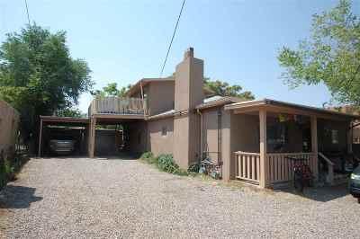 Santa Fe Multi Family Home For Sale: 1624 Paseo De Peralta