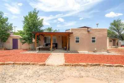 Santa Fe Single Family Home For Sale: 1619 Agua Fria