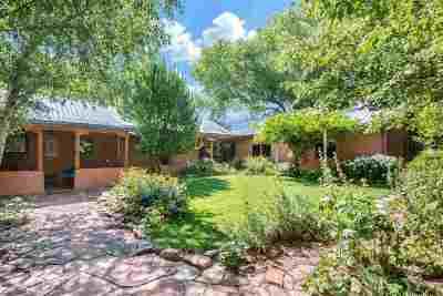Santa Fe Farm & Ranch For Sale: 106 Old Canoncito Road