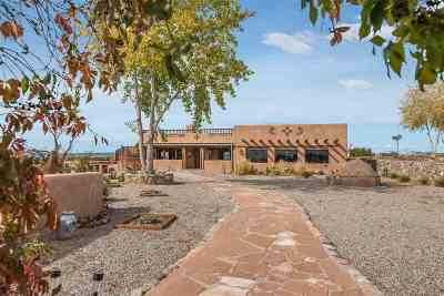 Rio Arriba County Single Family Home For Sale: 33 Private Drive 1613a