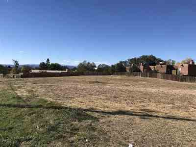Santa Fe Residential Lots & Land For Sale: 2752 Galisteo Road
