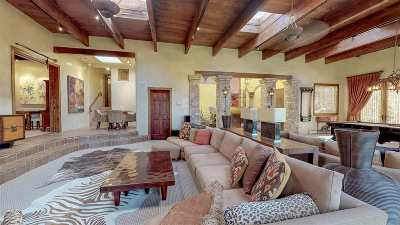 Santa Fe NM Single Family Home For Sale: $2,250,000