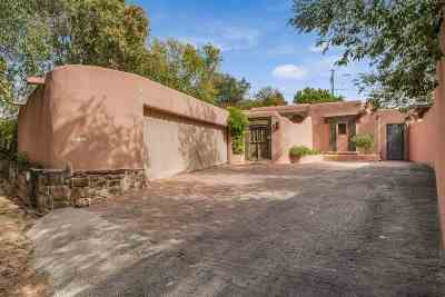 Santa Fe Single Family Home For Sale: 100 Lorenzo Rd
