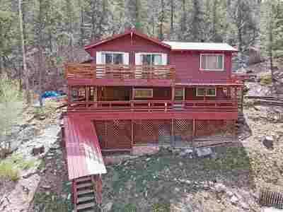 Jemez Springs Single Family Home For Sale: 56 River Drive