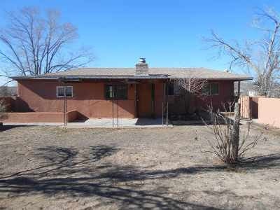 Espanola Single Family Home For Sale: 21 Arroyo Seco Circle