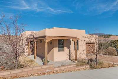 Santa Fe Single Family Home For Sale: 1651 Placita De Luna