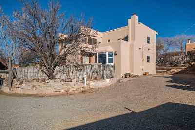 Santa Fe Single Family Home For Sale: 1 Montoya Circle #C