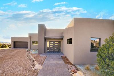 Santa Fe NM Single Family Home For Sale: $1,450,000
