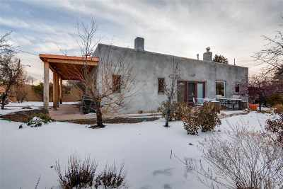 Santa Fe NM Single Family Home For Sale: $1,200,000