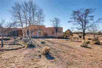 Santa Fe NM Single Family Home For Sale: $535,000