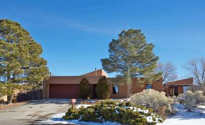 Santa Fe NM Single Family Home For Sale: $450,000