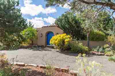 Santa Fe NM Single Family Home For Sale: $1,075,000