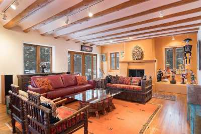 Santa Fe NM Single Family Home For Sale: $1,375,000