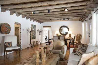 Santa Fe NM Single Family Home For Sale: $1,595,000