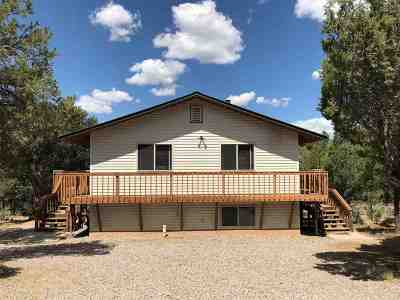 Single Family Home For Sale: 17 N. Leaning Pine Pinon Ridge