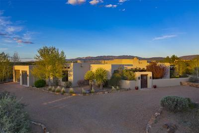 Santa Fe NM Single Family Home For Sale: $1,425,000