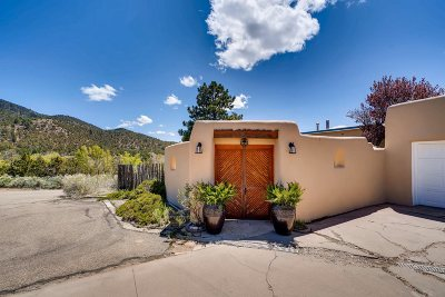 Santa Fe Single Family Home For Sale: 1661 Cerro Gordo