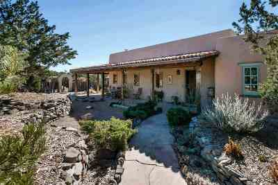 Santa Fe NM Single Family Home For Sale: $998,500