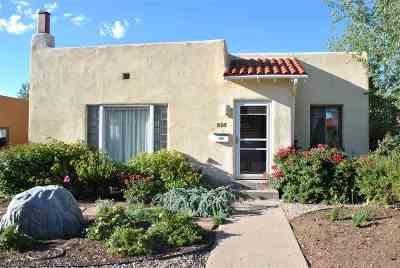 Santa Fe Single Family Home For Sale: 315 Don Fernando