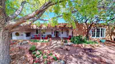Santa Fe NM Single Family Home For Sale: $1,400,000