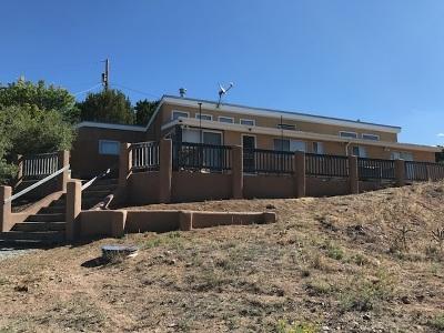 Santa Fe Single Family Home For Sale: 92 Camino Chupadero