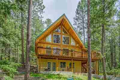 Jemez Springs Single Family Home For Sale: 1222 Los Griegos