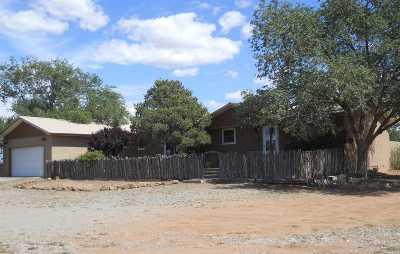 Santa Fe Single Family Home For Sale: 18b Cedar