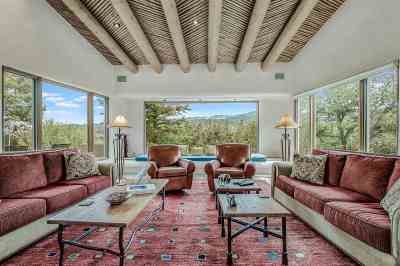 Santa Fe Single Family Home For Sale: 1433 Old Sunset Trail